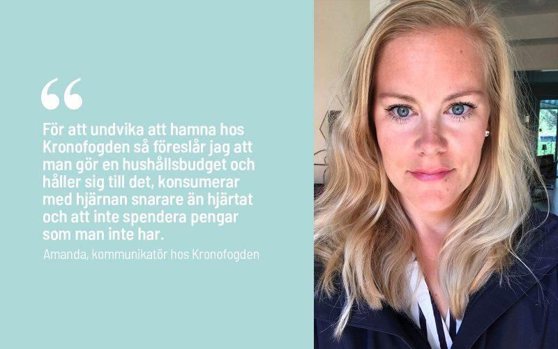 Citat Amanda Kronofogden